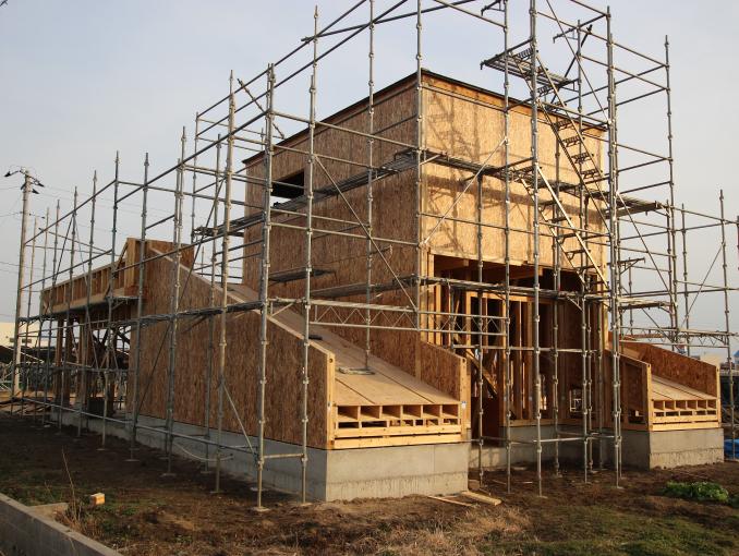 千葉県茂原市新築戸建て施工状況|2017年9月22日|04